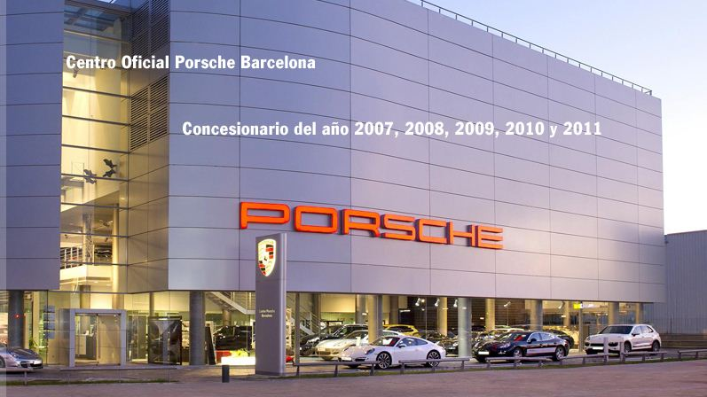 Evento Cocktail Porsche Barcelona.